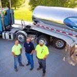 Logistics team of Idaho Milk Products